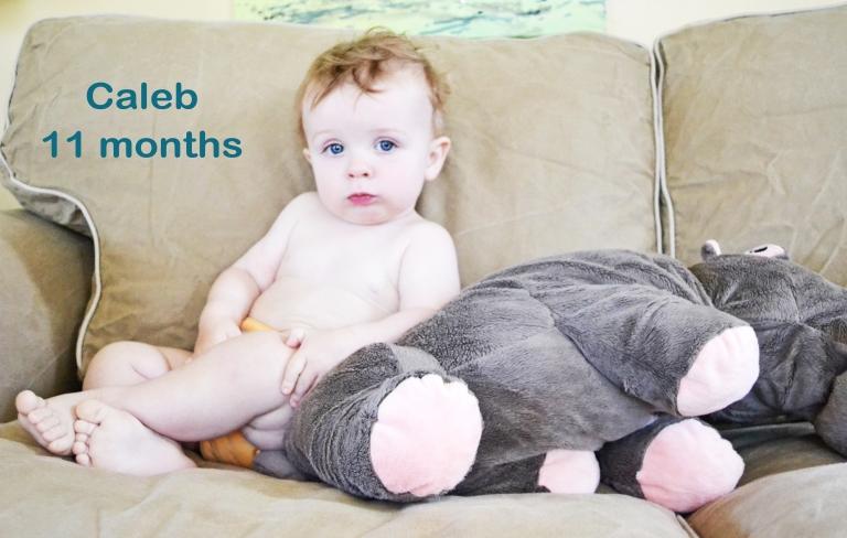 Caleb: 11 months
