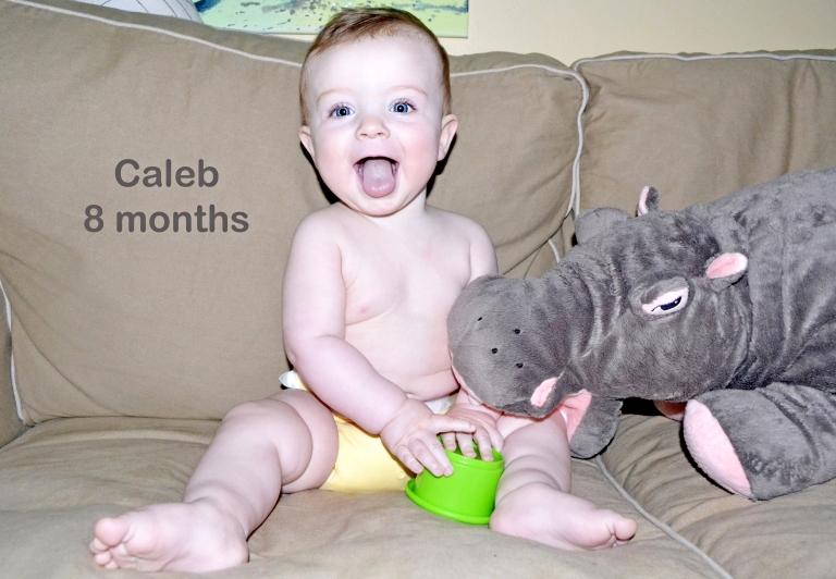 Caleb: 8 months