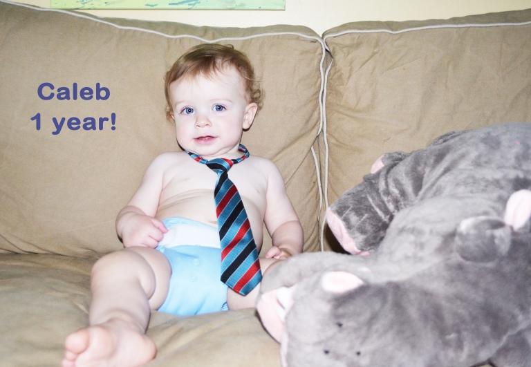 Caleb: 1 year