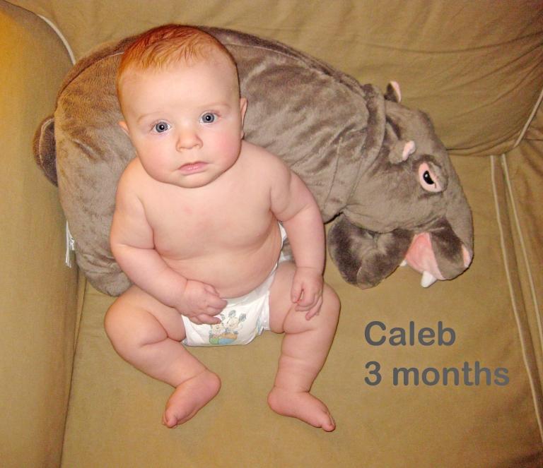 Caleb: 3 months
