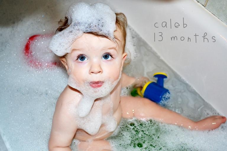 Caleb: 13 months