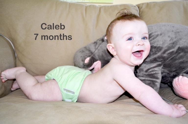 Caleb: 7 months