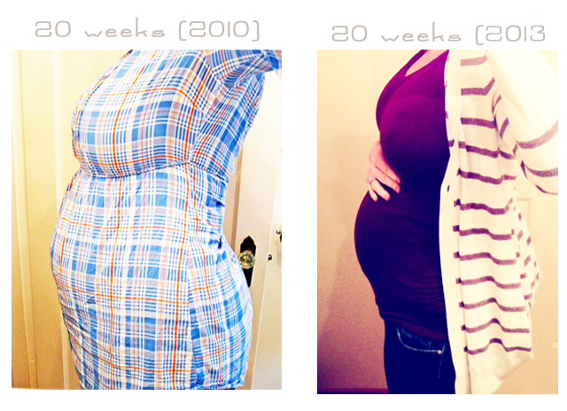 20 week compare 22 Weeks Pregnant Belly Plus Size